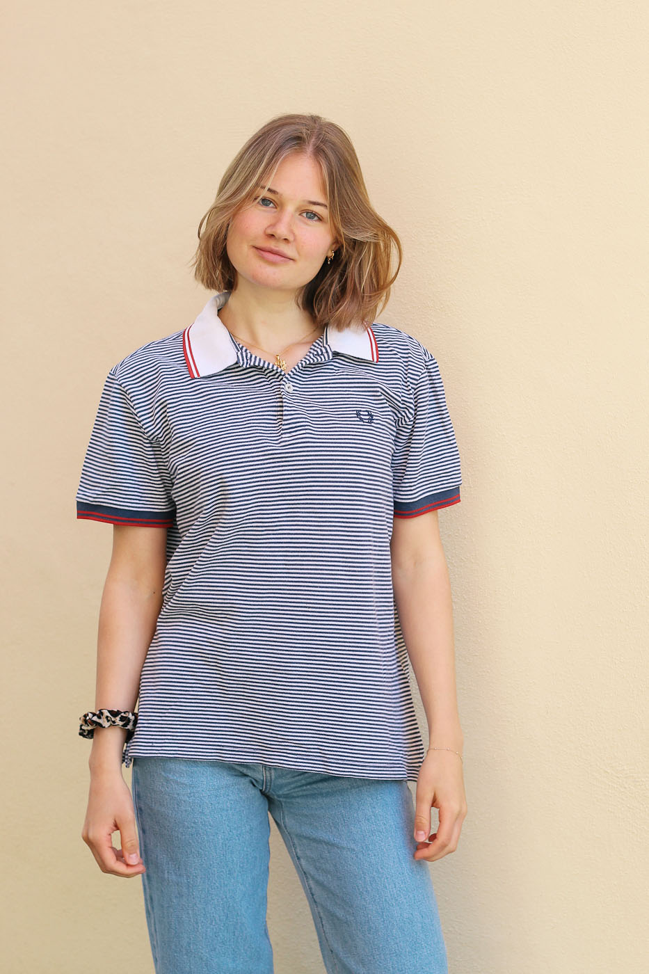 Vintage | Polo Shirt Fred Perry Baumwolle | M